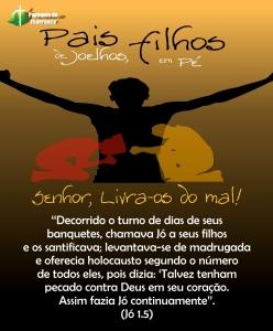 CAMPANHA PAIS DE JOELHOS, FILHOS EM PÉ - PARESP